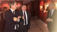 Jean Rottner en visite au Musée Départemental