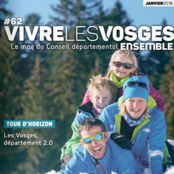 Vivre les Vosges Ensemble - Numéro 62 - janvier 2018