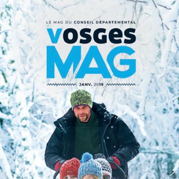 Vosges Mag #3 - Janvier 2019