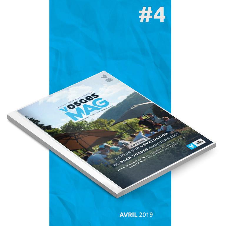 Vosges Mag #4 - Avril 2019