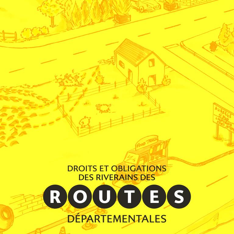 Routes départementales